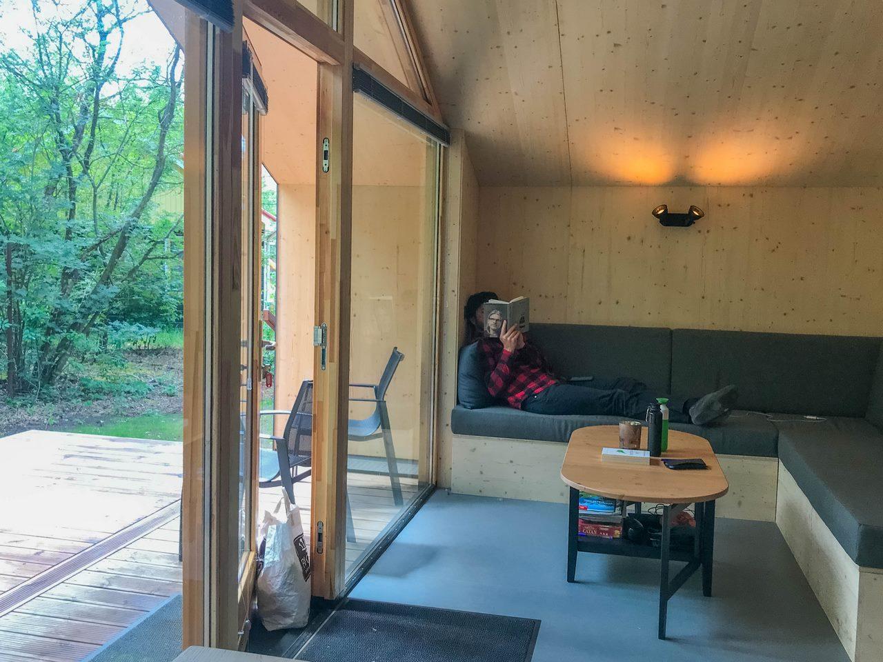 Ecohuisje bij Krikkenhaar (Iris Vermaas)